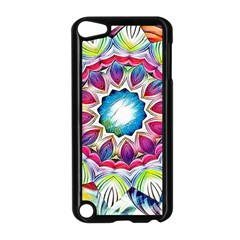 Sunshine Feeling Mandala Apple Ipod Touch 5 Case (black)