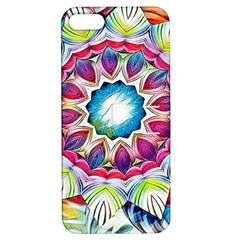 Sunshine Feeling Mandala Apple Iphone 5 Hardshell Case With Stand by designworld65