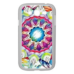 Sunshine Feeling Mandala Samsung Galaxy Grand Duos I9082 Case (white)