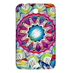 Sunshine Feeling Mandala Samsung Galaxy Tab 3 (7 ) P3200 Hardshell Case  by designworld65