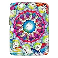 Sunshine Feeling Mandala Samsung Galaxy Tab 3 (10 1 ) P5200 Hardshell Case  by designworld65