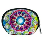 Sunshine Feeling Mandala Accessory Pouches (Medium)  Back
