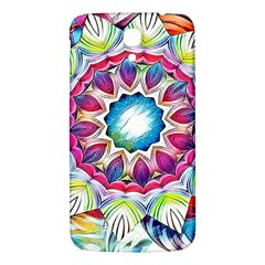 Sunshine Feeling Mandala Samsung Galaxy Mega I9200 Hardshell Back Case