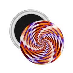 Woven Colorful Waves 2.25  Magnets