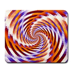 Woven Colorful Waves Large Mousepads by designworld65