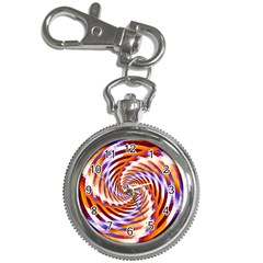 Woven Colorful Waves Key Chain Watches
