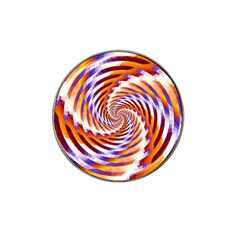 Woven Colorful Waves Hat Clip Ball Marker (10 pack)