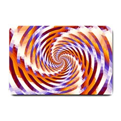 Woven Colorful Waves Small Doormat