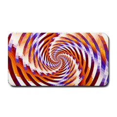 Woven Colorful Waves Medium Bar Mats by designworld65