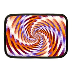 Woven Colorful Waves Netbook Case (medium)  by designworld65