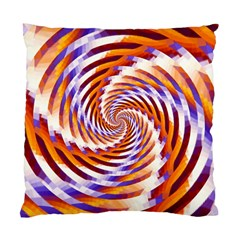 Woven Colorful Waves Standard Cushion Case (One Side)