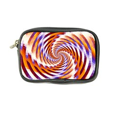 Woven Colorful Waves Coin Purse