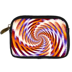 Woven Colorful Waves Digital Camera Cases
