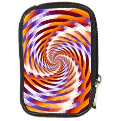 Woven Colorful Waves Compact Camera Cases
