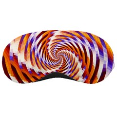 Woven Colorful Waves Sleeping Masks by designworld65