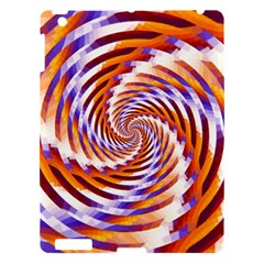 Woven Colorful Waves Apple Ipad 3/4 Hardshell Case by designworld65