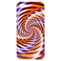 Woven Colorful Waves Apple Iphone 5 Hardshell Case by designworld65