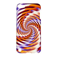 Woven Colorful Waves Apple Ipod Touch 5 Hardshell Case by designworld65