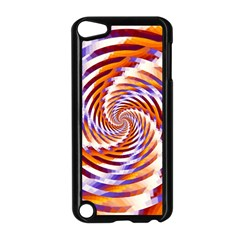 Woven Colorful Waves Apple Ipod Touch 5 Case (black) by designworld65