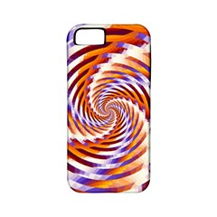 Woven Colorful Waves Apple Iphone 5 Classic Hardshell Case (pc+silicone) by designworld65