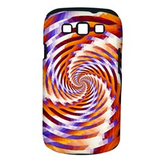 Woven Colorful Waves Samsung Galaxy S III Classic Hardshell Case (PC+Silicone)