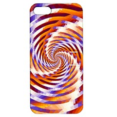 Woven Colorful Waves Apple iPhone 5 Hardshell Case with Stand