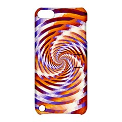 Woven Colorful Waves Apple iPod Touch 5 Hardshell Case with Stand