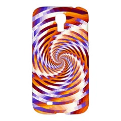Woven Colorful Waves Samsung Galaxy S4 I9500/i9505 Hardshell Case by designworld65