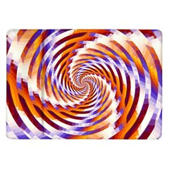 Woven Colorful Waves Samsung Galaxy Tab 10 1  P7500 Flip Case by designworld65