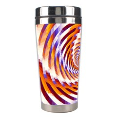Woven Colorful Waves Stainless Steel Travel Tumblers