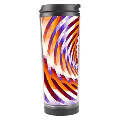 Woven Colorful Waves Travel Tumbler