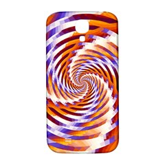 Woven Colorful Waves Samsung Galaxy S4 I9500/I9505  Hardshell Back Case