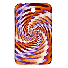 Woven Colorful Waves Samsung Galaxy Tab 3 (7 ) P3200 Hardshell Case  by designworld65