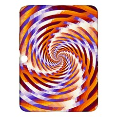 Woven Colorful Waves Samsung Galaxy Tab 3 (10 1 ) P5200 Hardshell Case  by designworld65
