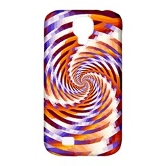 Woven Colorful Waves Samsung Galaxy S4 Classic Hardshell Case (pc+silicone) by designworld65