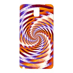 Woven Colorful Waves Samsung Galaxy Note 3 N9005 Hardshell Back Case by designworld65