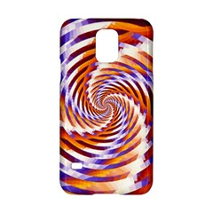 Woven Colorful Waves Samsung Galaxy S5 Hardshell Case  by designworld65