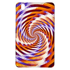 Woven Colorful Waves Samsung Galaxy Tab Pro 8 4 Hardshell Case by designworld65