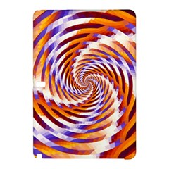 Woven Colorful Waves Samsung Galaxy Tab Pro 12 2 Hardshell Case by designworld65