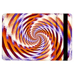 Woven Colorful Waves iPad Air Flip