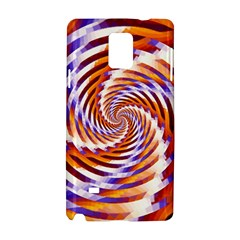 Woven Colorful Waves Samsung Galaxy Note 4 Hardshell Case