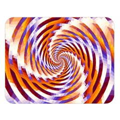 Woven Colorful Waves Double Sided Flano Blanket (Large)