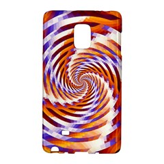 Woven Colorful Waves Galaxy Note Edge by designworld65