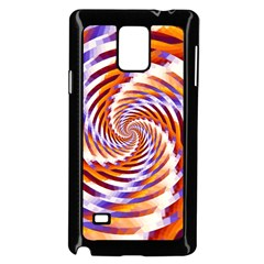 Woven Colorful Waves Samsung Galaxy Note 4 Case (Black)