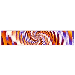 Woven Colorful Waves Flano Scarf (small) by designworld65