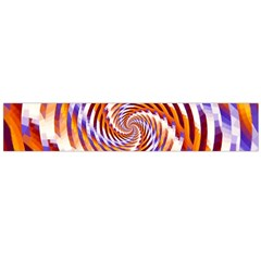 Woven Colorful Waves Flano Scarf (large) by designworld65