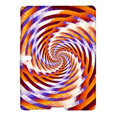 Woven Colorful Waves Samsung Galaxy Tab S (10 5 ) Hardshell Case  by designworld65