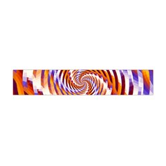 Woven Colorful Waves Flano Scarf (mini)