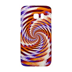 Woven Colorful Waves Galaxy S6 Edge by designworld65
