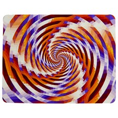 Woven Colorful Waves Jigsaw Puzzle Photo Stand (rectangular) by designworld65
